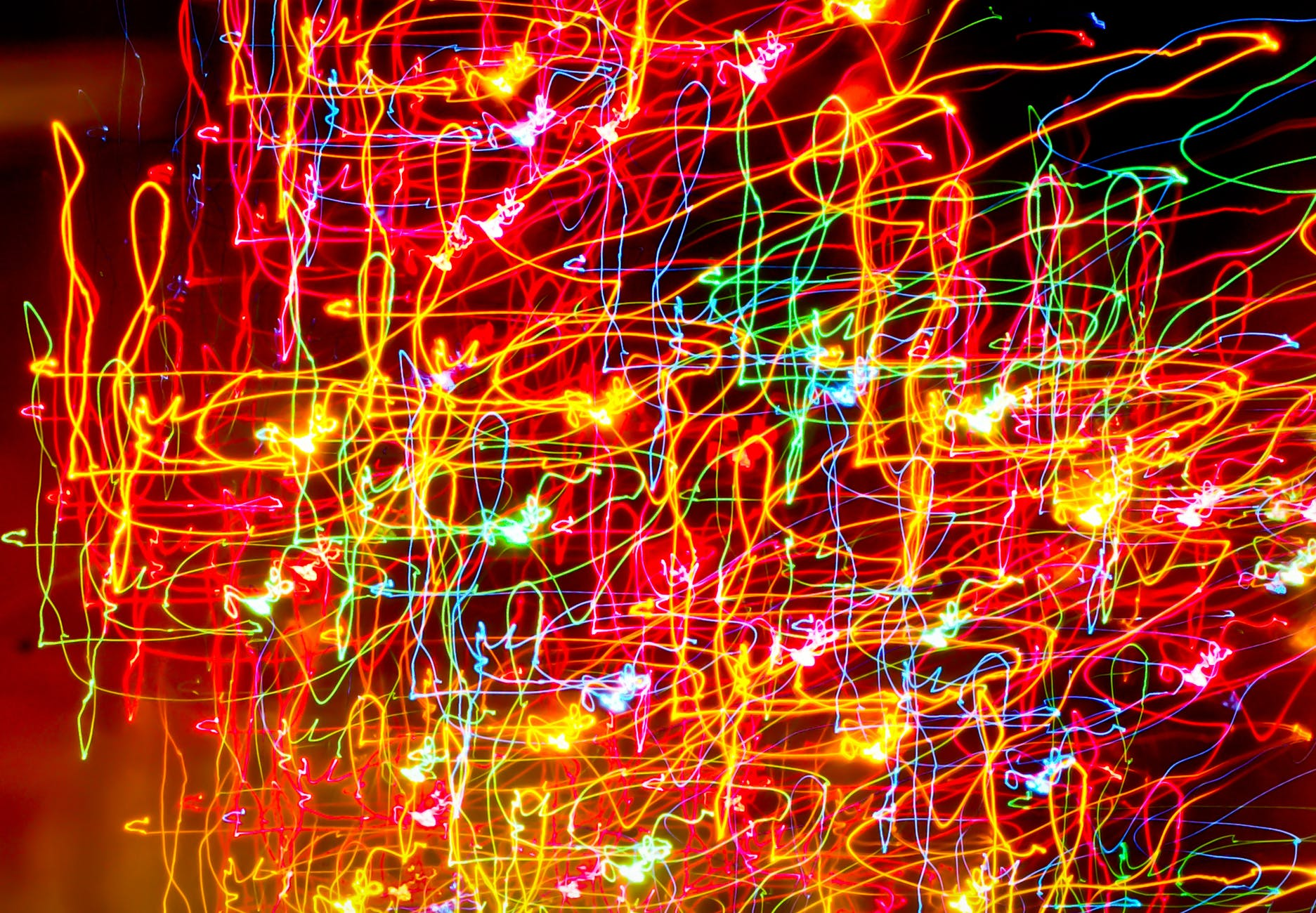 light creative abstract colorful